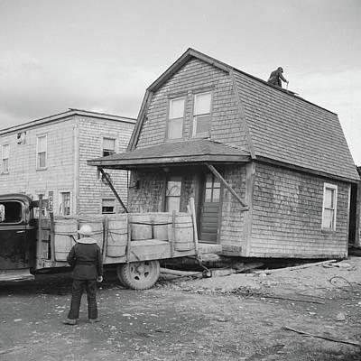Maine Moving, 1940 Art Print by Granger