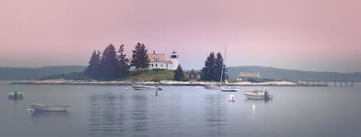 Coastal Maine Photograph - Maine Pumpkin Lighthouse by Chad Tracy