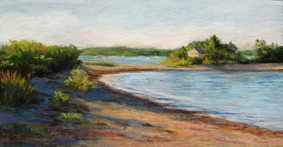 Painting - Maine Quiet Bay by Vikki Bouffard
