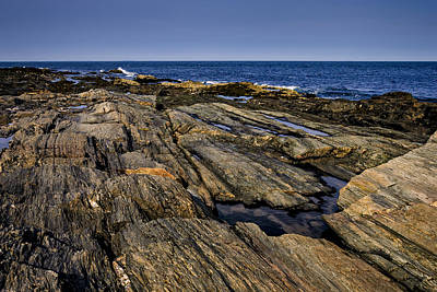 Mark Myhaver Rights Managed Images - Maine Rocky Coast No28 Royalty-Free Image by Mark Myhaver