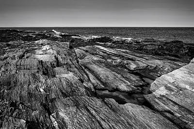 Photograph - Maine Rocky Coast No29 by Mark Myhaver