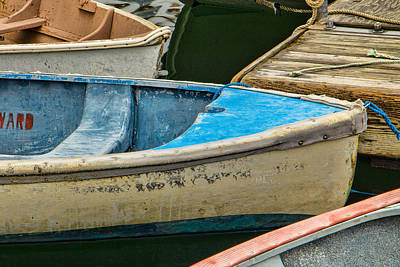 Maine Rowboats Art Print by Steven Bateson
