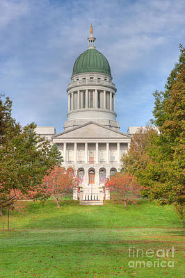 Photograph - Maine State House I by Clarence Holmes