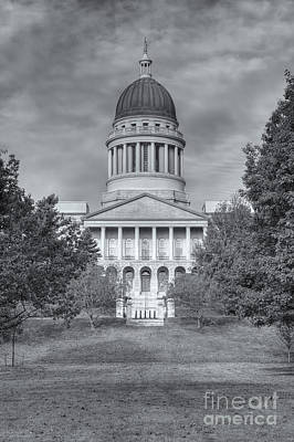 Photograph - Maine State House II by Clarence Holmes