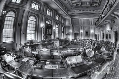 Maine State House Senate Chamber II Art Print