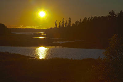 Photograph - Maine Sunset by Melinda Fawver