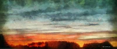 Maine Sunset Art Print by RC deWinter