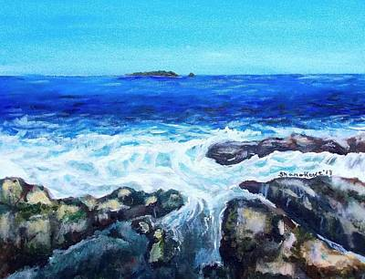 Painting - Maine Tidal Pool by Shana Rowe Jackson