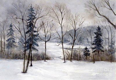 Painting - Maine Winter by Suzanne Krueger