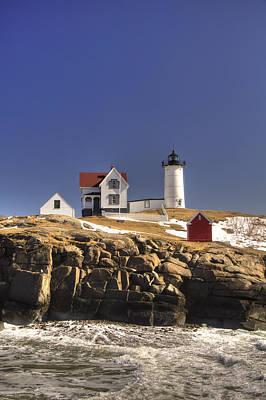 Photograph - Maine's Nubble Light by Joann Vitali