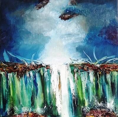 Viridian Painting - Mainstream by Meyer Van Rensburg