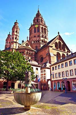 Saint-martin Photograph - Mainz, Germany, Saint Martin's by Miva Stock