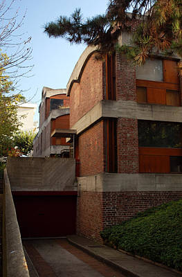 Modernism Photograph - Maisons Jaoul - Le Corbusier by Peter Cassidy