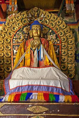 Maitreya Buddha Erdene Zuu Monastery Art Print by Colin Monteath