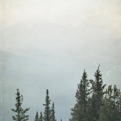 Photograph - Majestic - Banff - Square by Lisa Parrish