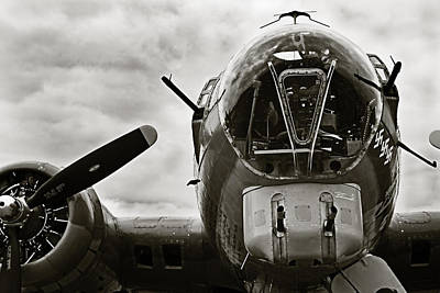 Photograph - Majestic B17 Bomber From Ww II by M K Miller