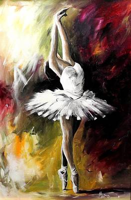 Painting - Majestic Dance by Henry Blackmon