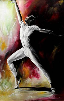 Painting - Majestic Dance II by Henry Blackmon