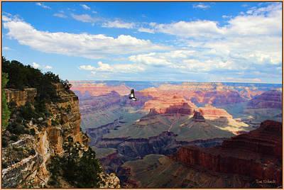 Tom Schmidt Digital Art - Majestic Grand Canyon by Tom Schmidt