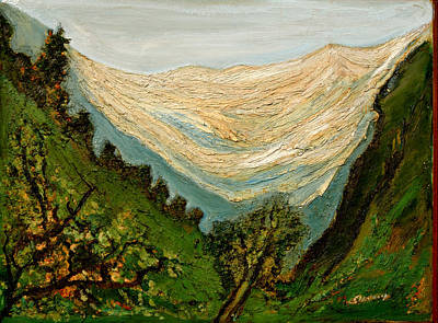 Painting - Majestic Heights by Anand Swaroop Manchiraju