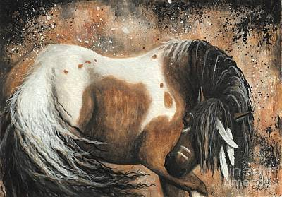Spirit Horse Painting - Majestic Horse Series 74 by AmyLyn Bihrle