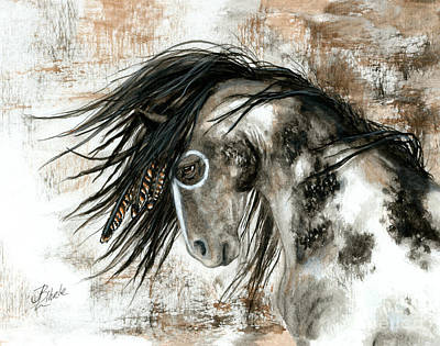 Wildhhorses Painting - Majestic Horse Series 88 by AmyLyn Bihrle