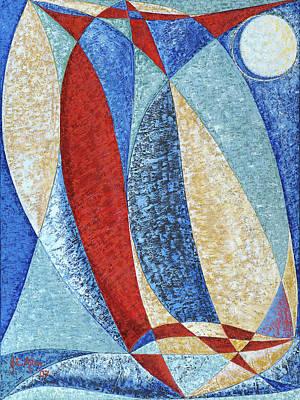 Joseph Edward Allen Painting - Majestic by Joseph Edward Allen