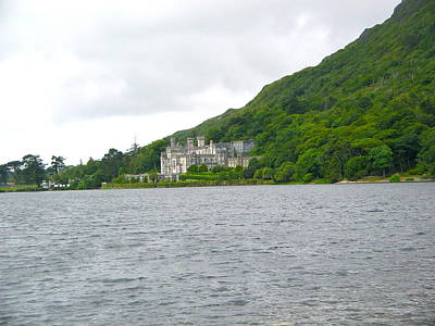 Photograph - Majestic Kylemore Abbey by Denise Mazzocco