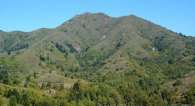 Photograph - Majestic Magical Mountain Tamalpais by Ben Upham III