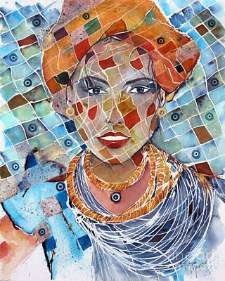 Painting - Majestic Mosaic by Mona Mansour Jandali