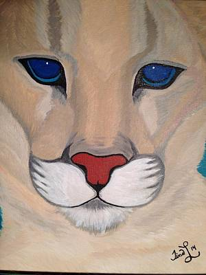 Majestic Mountain Lion Original