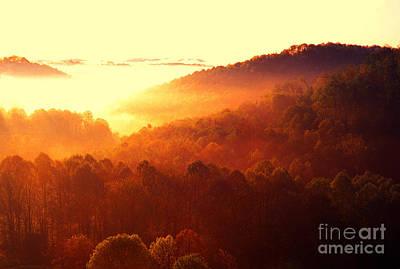 Car Photos Douglas Pittman - Majestic Mountain Sunrise by Thomas R Fletcher