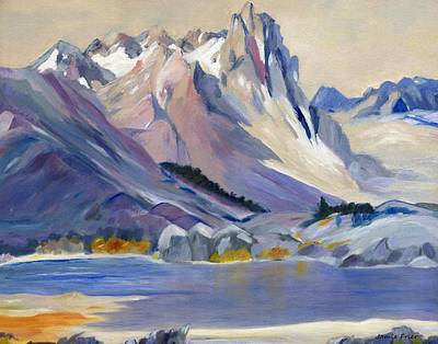 Painting - Majestic Mountains by Jamie Frier