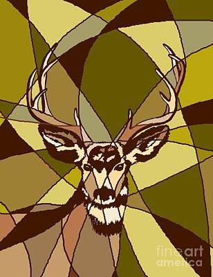 Digital Art - Majestic Mule Deer Buck by Dale Jackson