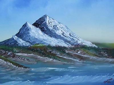 Majestic Peaks Art Print by Jennifer Muller