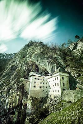 Photograph - Majestic Predjama Castle by Patrik Lovrin