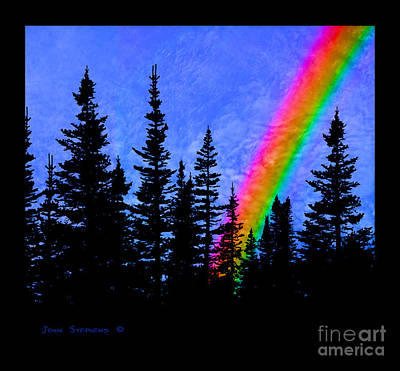 Photograph - Majestic Rainbow by John Stephens