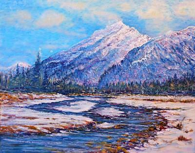 Painting - Majestic Rise - Impressionism by Joseph   Ruff