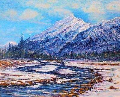 Painting - Majestic Rise - Natural by Joseph   Ruff