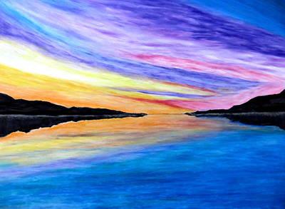 Pastel - Majestic Sky by Daniel Dubinsky