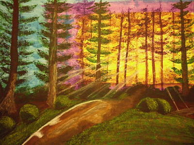 Peaceful Painting - Majestic Sunrise by Erica  Darknell