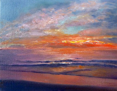 Painting - Majestic Sunrise by Lori Ippolito