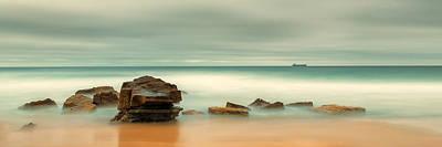 Sunrise Photograph - Majestic Seascape by Tim Brown