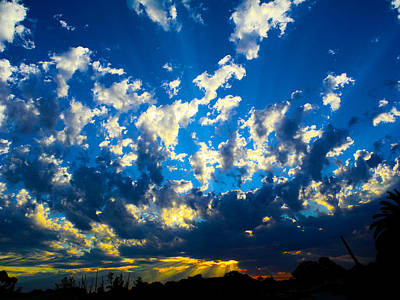 Majestic Sunset Art Print by Mark Blauhoefer