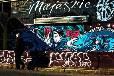 Urban Art Photograph - Majestic Urban Art by Karol Livote