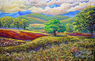 Painting - Majestic View Of The Blue Ridge After A Storm by Lee Nixon