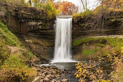 Travel Photograph - Majestic Waterfall by AMB Fine Art Photography