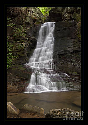 Photograph - Majestic Wilderness Waterfall by John Stephens