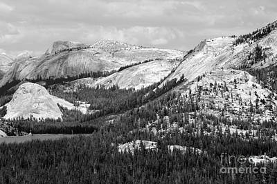 Photograph - Majesty Mountains Black And White by Mary Lou Chmura