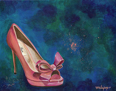 Designer Clothes Painting - Majo Valentino by Melissa Pop
